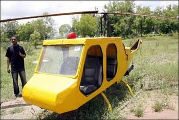 Nigerian Helicopter