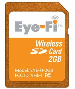 Eye-Fi Wi-Fi Wireless SD Card