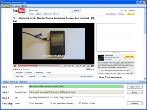 DROID video converter