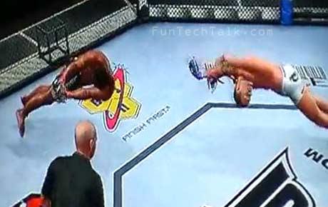 UFC 2010 Undisputed-glitch