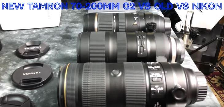 2017 Tamron 70-200mm G2 vs Old vs Nikon 70-200mm vr