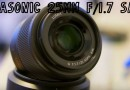 25mm Panasonic F1.7 Sale