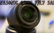 25mm Panasonic F1.7 Sale