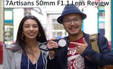 7Artisans 50mm F1.1 Lens Review Video