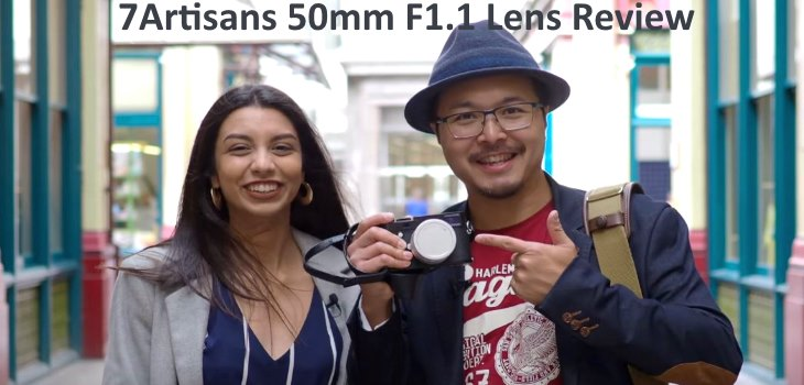 7Artisans 50mm F1.1 Lens Review Video
