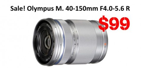 Sale Olympus M. 40-150mm F4.0-5.6 Deal