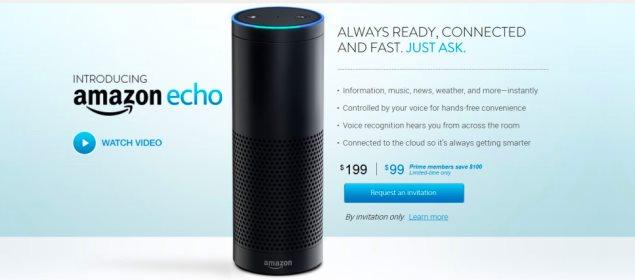 Amazon Echo invite