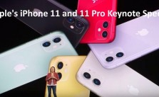 Apple iPhone 11 and 11 Pro keynote speech