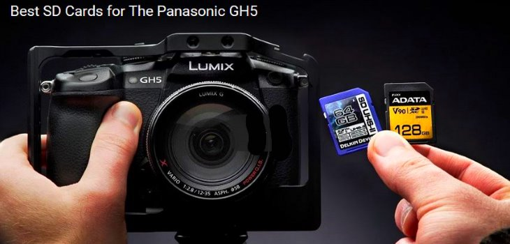 Best SD cards for Panasonic GH5 400mbs
