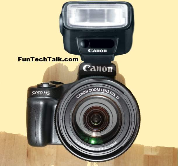 Best Speedlite Flash Canon PowerShot SX50 HS