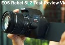 CANON EOS REBEL SL2 Test Review vlogging