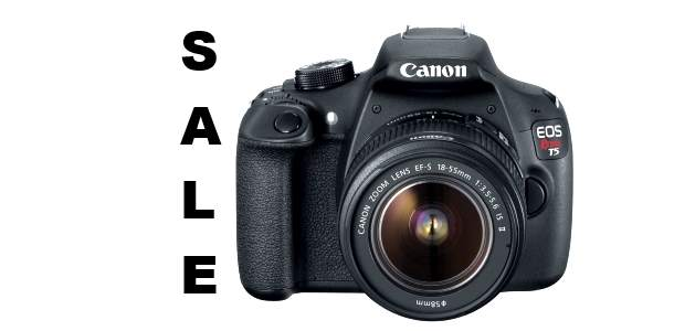 Canon EOS Rebel T5 Sale