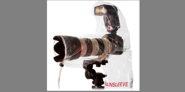 Cheap camera rain and weather sleeve