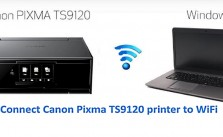 Connect Canon Pixma TS9120 To WiFi Wireless Printer