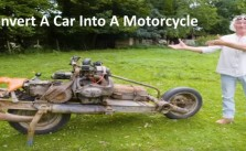 Convert A Car Into A Motorcycle