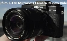 Fujifilm X-T30 Mirrorless Camera Review Video