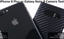 Galaxy Note 8 vs iPhone 8 Plus Camera Test video