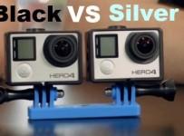 GoPro HERO4 Silver vs. HERO4 Black Comparison
