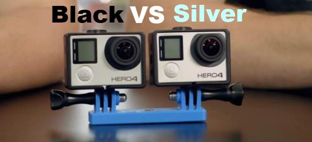 GoPro HERO4 Silver vs. HERO4 Black Comparison