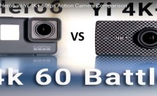 GoPro Hero6 vs Yi 4K+ vs Sony X3000 60fps