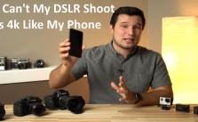 Iphone 4k vs dslr video