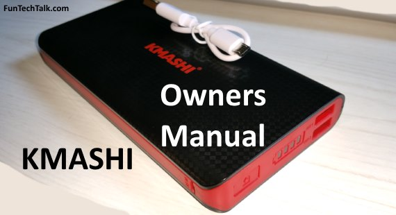 KMASHI Owners Manual