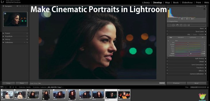 Make Cinematic Portraits in Lightroom