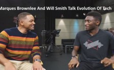 Marques Brownlee and Will Smith talk tech