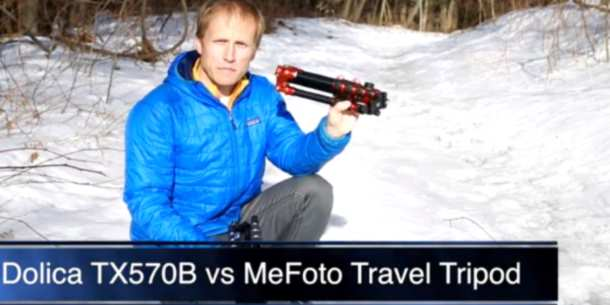 Mefoto Travel Tripod vs Dolica TRX570 review