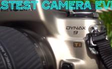 Minolta Dynax 9 - Maxxum Fastest camera