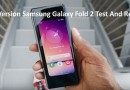 New Version Samsung Galaxy Fold 2 Test And Review
