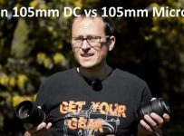 Nikon 105mm DC vs 105mm Micro VR