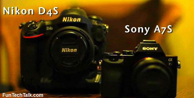 Nikon D4S vs. Sony A7S video