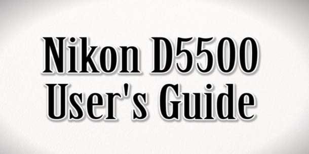 Nikon D550 users guide help