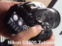 Nikon D5500 learn to use tips