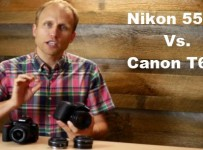 Nikon D5500 vs Canon T6s Review