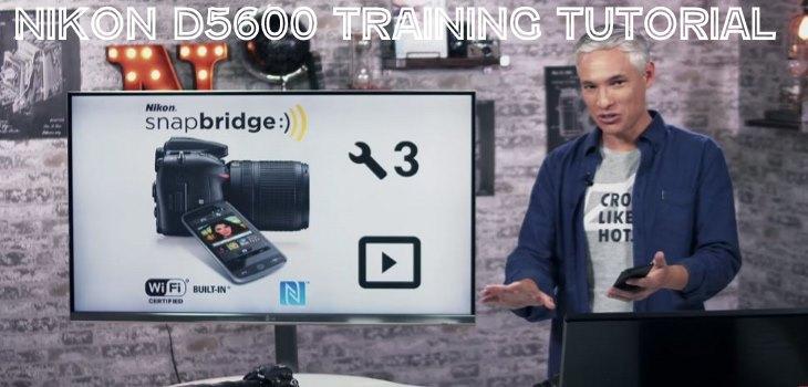 Nikon D5600 video tutorial trainng