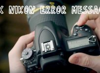 Nikon D7100 Error Codes and how to fix