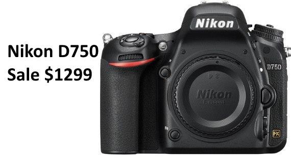 Nikon D750 Sale cheap new