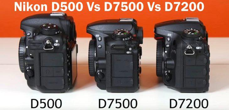 Nikon D7500 Vs D500 Vs D7200 Review Video Test