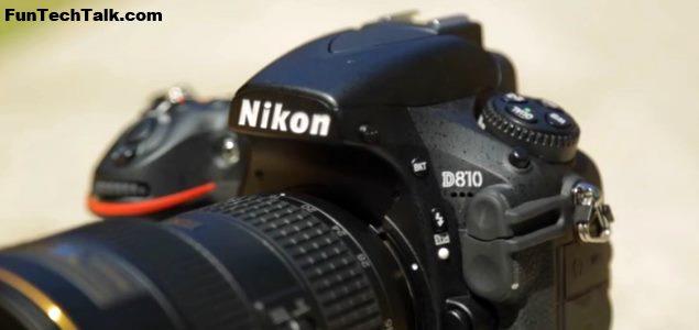 Nikon D810 vs D800E video