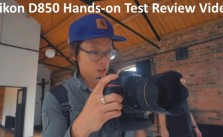 Nikon D850 Hands-on Test Review Video