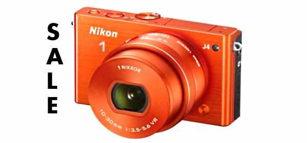 Nikon J4 sale price