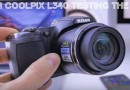 Nikon L340 Zoom Test review Video