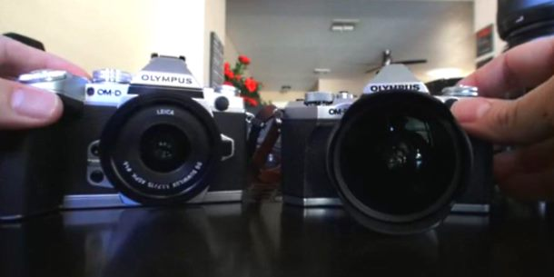 Olympus OM-D E-M5II vs Olympus E-M1 Video Comparison