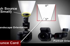 On Camera Flash Modifiers