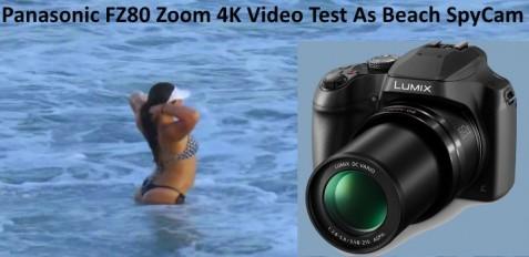 PANASONIC FZ80 Zoom Test Beach Bikinis