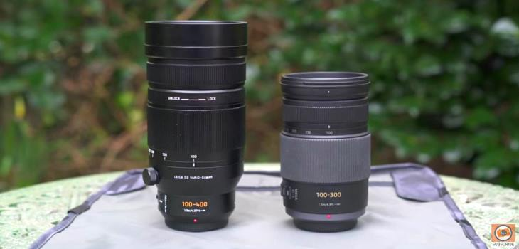 Panasonic 100-400mm vs 100-300mm Comparison