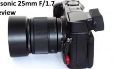 Panasonic 25mm F1.7 Review