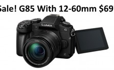 Panasonic G86 Sale Deal Wth 12 60mm lens